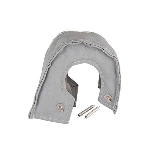 CAR SHUN Tinfoil Outer Glass Fiber Turbine Cover Supercharger Insulation Sleeve Suitable For Most Turbochargers: Amazon.co.uk: Sports & Outdoors
