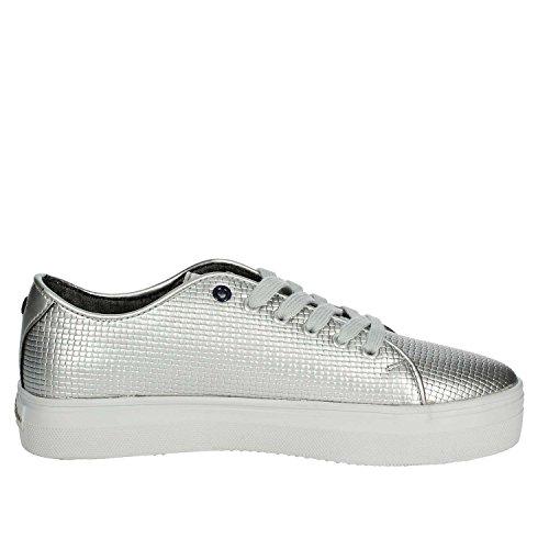TRIXY4110S7 Polo ASSN Silver Sneakers S U Women 5tqaUEw