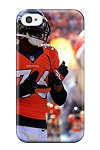 New Style Tpu 4/4s Protective Case Cover/ Iphone Case - Denverroncos