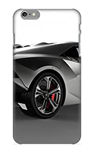 New Gfaahe-4240-cmtdhgx Lamborghini Sesto Elemento Concept Tpu Cover Case For Iphone 6 Plus - Best Gift Choice For Christmas