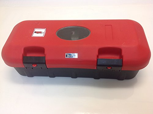 TTech Fire Extinguisher Cabinet Red Black for Truck / Trailer