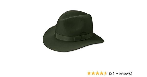 1dd46dd4373 Orvis Packable Felt Hat at Amazon Men s Clothing store