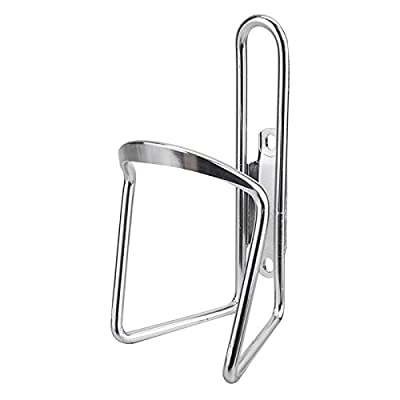 SUNLITE Alloy Bottle Cage, 6mm, Silver : Bike Water Bottle Cages : Sports & Outdoors