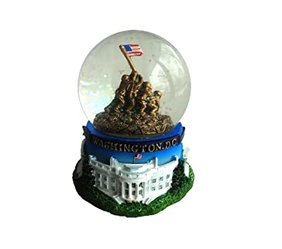 Washington DC Souvenir Snow Globe: Iwo Jima