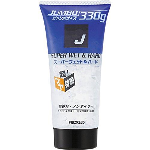 YANAGIYA J Super Wet & Hard Gel 330g (Japan Import)