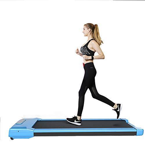 Maquina para correr, gimnasio en casa Oficina debajo del escritorio Cinta para correr 6 km / h Aplicacion para telefonos inteligentes Consola con pantalla tactil Cinta para correr Caminata compacta