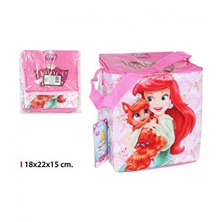 Inde - Bolsa Nevera Infantil Princess 5l 18x22x15cm: Amazon.es: Hogar