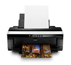 """Take your creativity and productivity to the next level with the advanced features and uncompromising quality of the Epson Stylus Photo R2000. This robust, 13""""-wide printer delivers remarkable efficiency and versatility with high-capacity car..."""