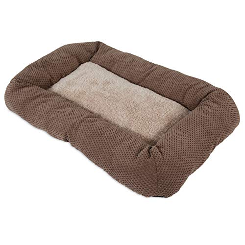 SNOOZZY 23X16 LOW BUMPER MAT ~ BROWN