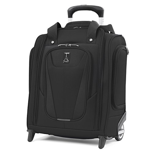 Travelpro Rolling Luggage (Travelpro Maxlite 5 Carry-on Compact Rolling Under Seat Bag, Black)