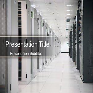 Amazon Com Data Center Powerpoint Templates Data Center Server Ppt Templates Software