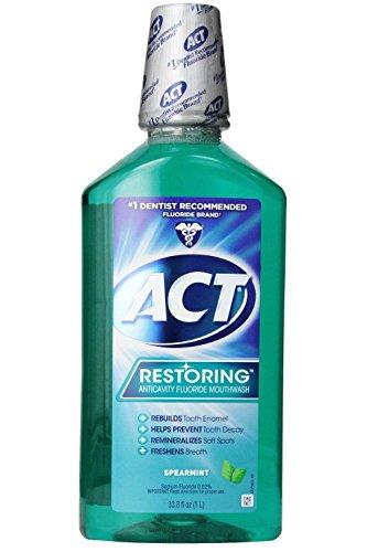 ACT Anticavity Fluoride Mouthwash Spearmint