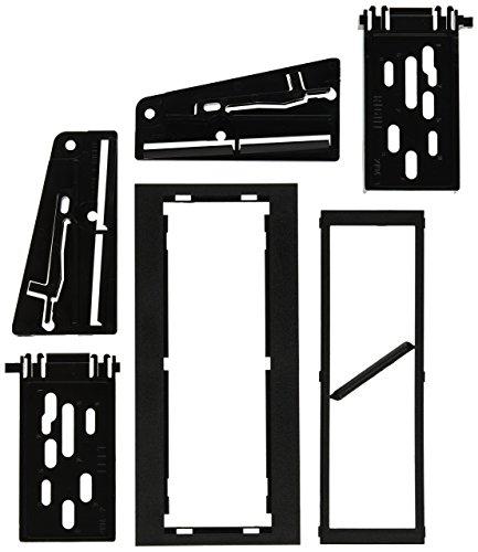 SCOSCHE GM1486B 1995-02 General Motors Full Size Truck EQ or Single DIN w/Pocket Install Dash Kit