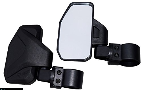 Chupacabra Offroad Rear View / Side Mirror for UTV – Right & Left Pair for 1.6″ – 2″ Roll Cage RZR X3 Maverick Pioneer YXZ