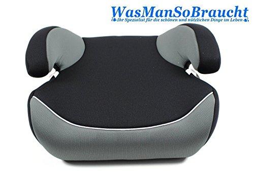 Autositzerhöhung Sitzerhöhung Kindersitz Gruppe II III 15-36kg mit Gurt-Fixierer WasManSoBraucht