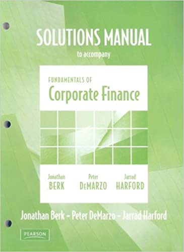Amazon solutions manual for fundamentals of corporate finance amazon solutions manual for fundamentals of corporate finance 9780321523235 jonathan berk peter demarzo jarrad harford books fandeluxe Choice Image