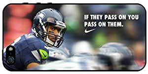 Russell Wilson Seahawks NFL v1Apple iPhone 5S - iPhone 5 Case 3102mss