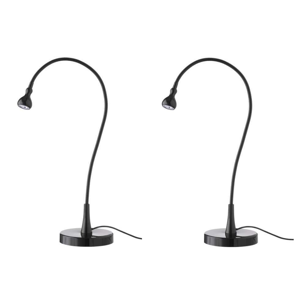 Ikea Lamp Work Led Jansjo 2 Pack Black 24 Flexible