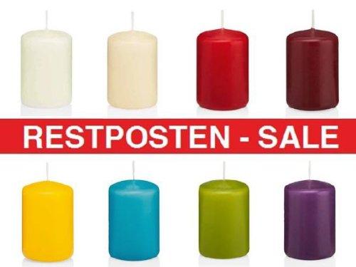 5 KG Stumpenkerzen, 1A TOP NEUWARE, Kerzen aus Kollektion 2014, Markenkerzen aus dt. Herstellung, Sonderangebot