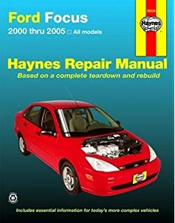 Ford focus 2000 2007 chiltons total car care repair manual repair manual ford mercury focus 2000 thru 2007 english paper format fandeluxe Image collections