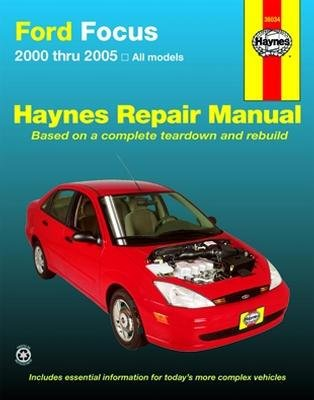 amazon com haynes repair manual ford mercury focus 2000 thru 2007 rh amazon com 2005 Ford Focus Manual PDF 2005 Ford Focus Repair Guide