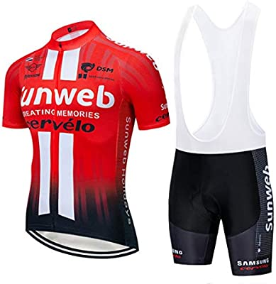 Wulibike Conjunto Ciclismo Verano Traje Ciclismo Hombre ...