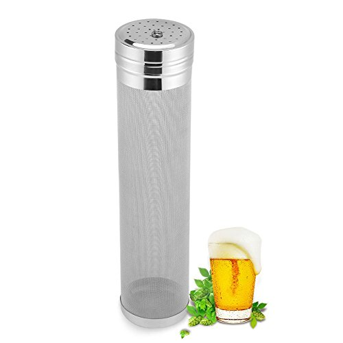 300 Micron Stainless Steel Beer Filter Spider Strainer Beer Hops Filter Tea Kettle Brew Filter for Homemade Brew Home Coffee