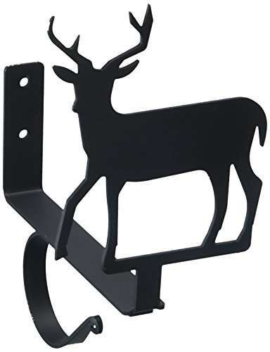Wrought Iron Curtain Shelf Bracket (7.5 Inch Deer Curtain Shelf Brackets)