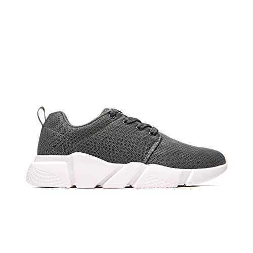 Grey Men's Shoes Shoes Breathable Casual Comfortable Casual Sport Shoes Men Casual Lightweight Outdoor Shoes Shoe Running Shoe QZbeita 7UCTcq64