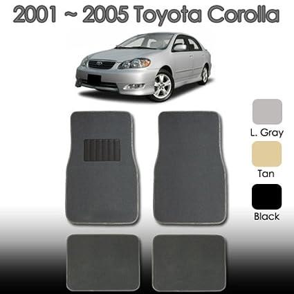 amazon com 2000 2001 2002 2003 2004 2005 universal car toyota rh amazon com toyota corolla car mats 2005 toyota corolla car mats 2015