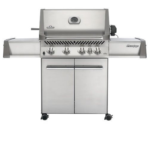 Napoleon P500RBNSS Prestige Gas Grill with Rear Burner Stainless Steel Doors and Lid Napoleon Products