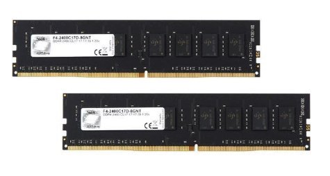 G.SKILL 8GB (2 x 4GB) Value DDR4 PC4-19200 2400MHz 288-Pin Intel X299 / Z270 / Z170 / X99 Platform Desktop Memory Model (8gb 288 Pin Ddr4 Sdram Ddr4 2400)