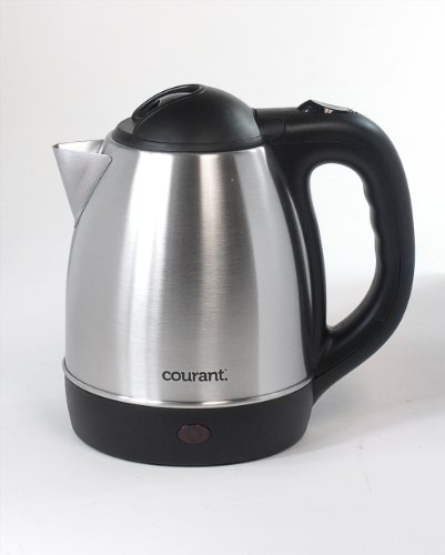 Courant 1.2 Liter Stainless Steel Cordless Electric Kettle Kec121s (1.2 Liter)