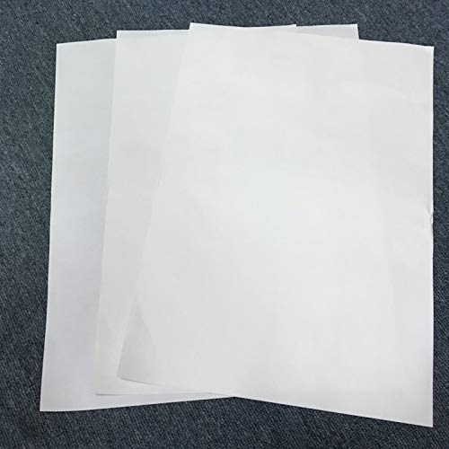 Printer Parts 100 Sheets for Sublimation Machine Heat Transfer Machine T-Shirt Clothes germent Cotton A3 Sublimation Paper Light Color by Yoton (Image #2)
