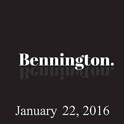 Bennington, January 22, 2016