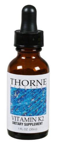 ТОРН RESEARCH - Витамин K2 Liquid - 1 жидкая унция [Здоровье и красота]