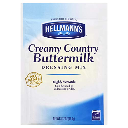 Dry Mix Pouch Creamy Country Buttermilk 3.12 oz, Pack of 18 ()