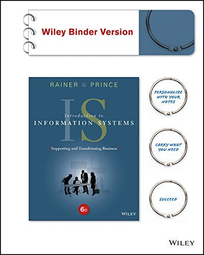 Introduction to Information Systems, Binder Ready Version