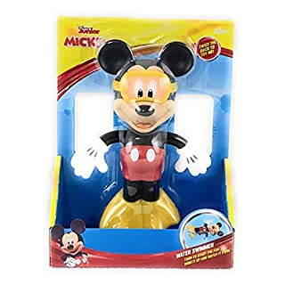 Disney Mickey Mouse Water Swimmer Wind up Bath Pool Toy