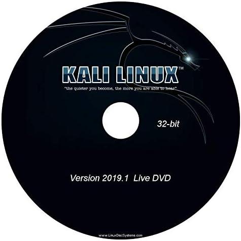 KALI LINUX INSTALL /& LIVE DVDs Penetration Testing 32 /& 64-Bit 2019