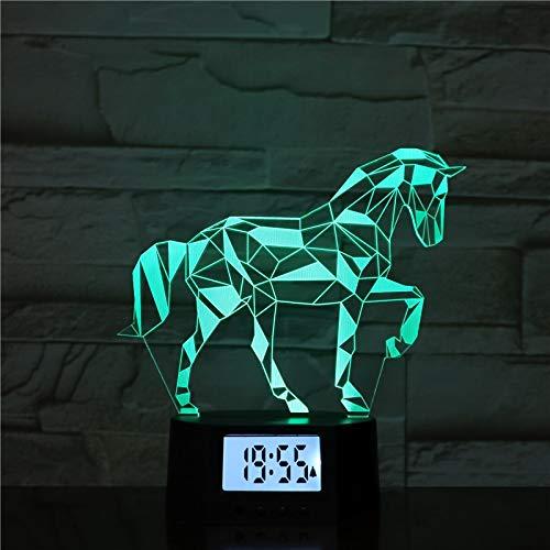 Regalo De Unicornio Decoración del Hogar Lámpara De Mesa De ...