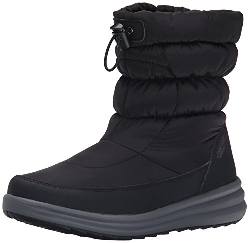 Rockport Cobb Hill Womens Brandy Waterproof Boot Black