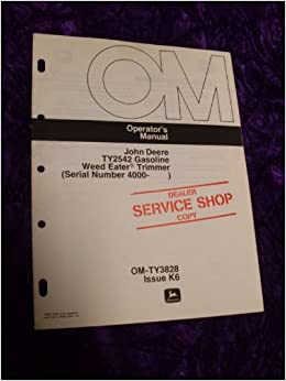 weedeater service manual