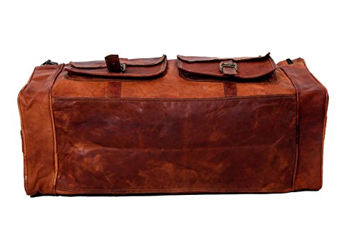 Urban Hide  UH404, Borsone  marrone Tan Bown L x B x H - (22 x 9 x 14) inches