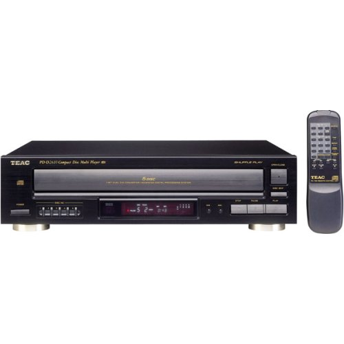 TEAC PD-D2610 5-CD Carousel