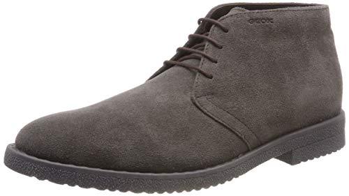 Geox U Brandled B, Stivali Desert Boots Uomo Marrone (Mud C6372)