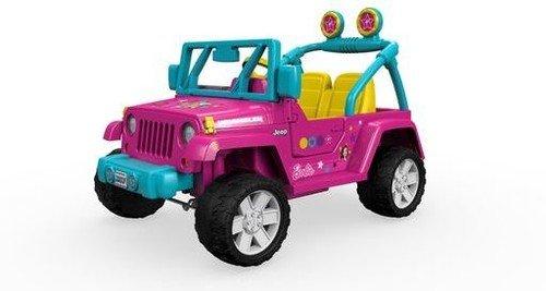 Power Wheels Barbie Jeep (Fisher Price Power Wheels Barbie Jammin Jeep)