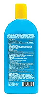 NO-AD Kids Sun Care Sunscreen Lotion, SPF 50 16 oz (Pack of 3)