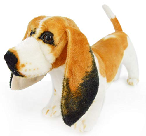 VIAHART Bourguignon The Basset Hound | 19 Inch Large Dog Stuffed Animal Plush Dog | by Tiger Tale Toys