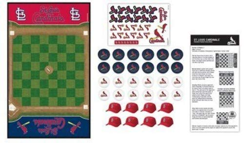 MasterPieces MLB St. Louis Cardinals Checkers Board - Box Checker